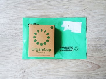 OrganiCup environmental friendly