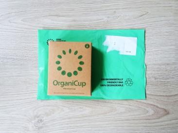 OrganiCup environmental friendly