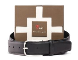 Sustainable leather belt