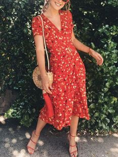 How to wear flower dresses